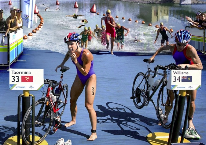 Triathlonenchainement